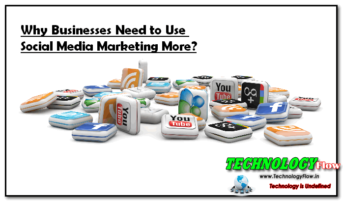 Why Businesses Need to Use Social Media Marketing