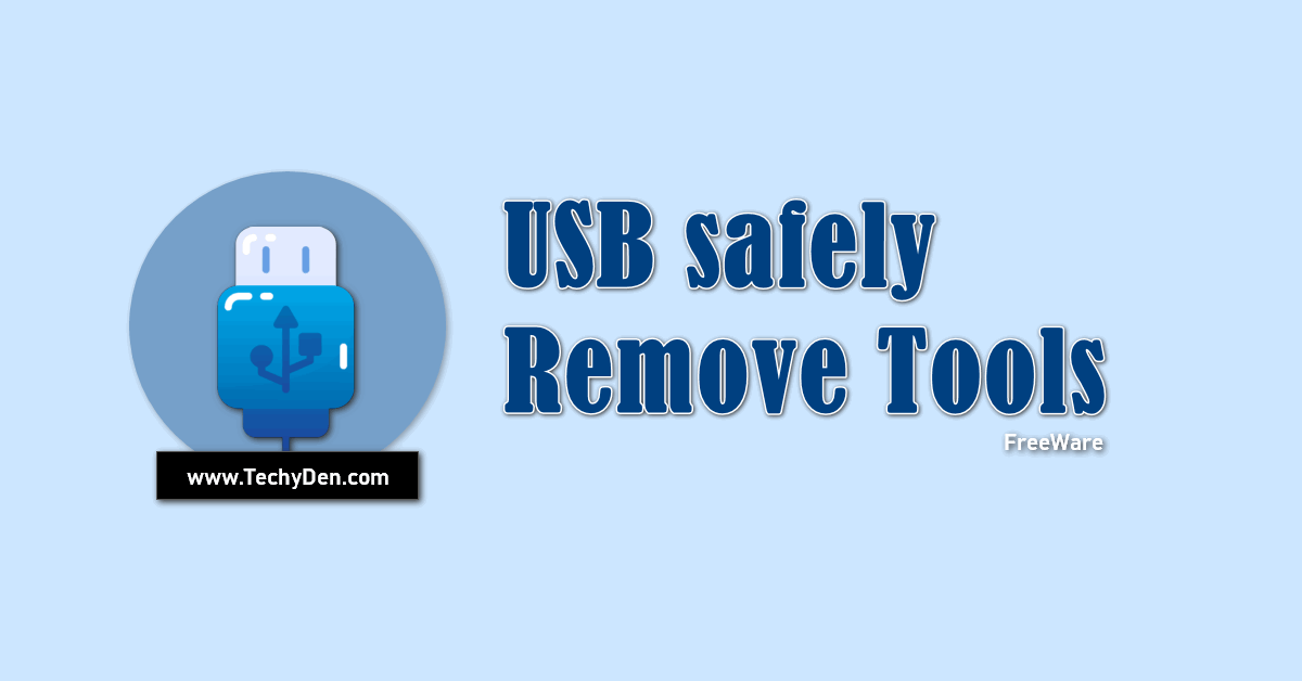 USB safely remove freeware tools