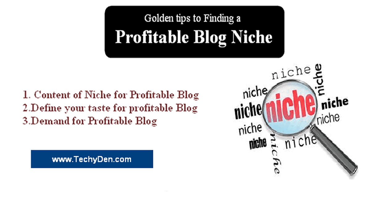 profitable blog niche