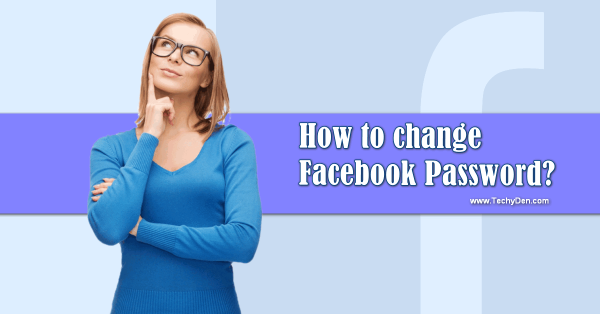 how to change Facebook password securly