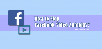 How to stop Facebook Video Autoplay?