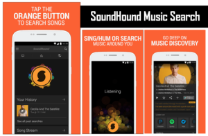 SoundHound Music Search app helps to find Shazam is one of the Top 5 Apps helps to know what song is this