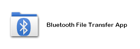 Bluetooth file transfer app