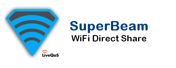 superBeam wifi direct share app