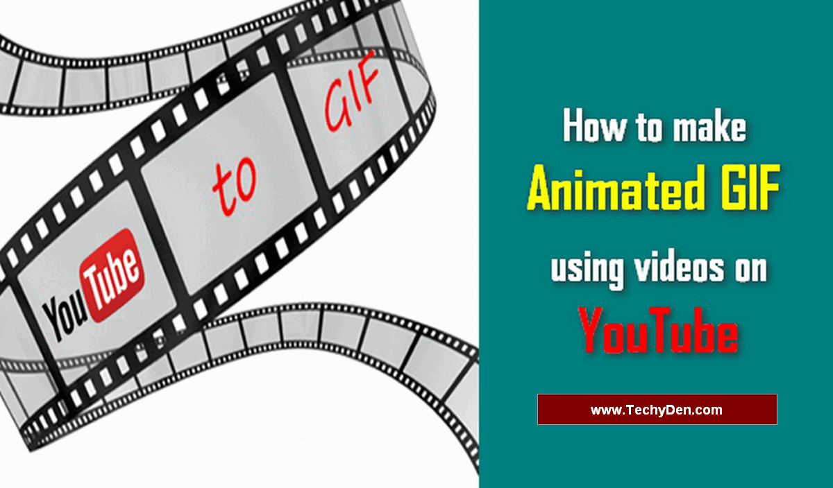 How to make animated GIF using videos on YouTube