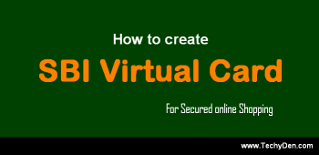 SBI Virtual Credit Card: How to Create SBI Virtual Card from Online SBI