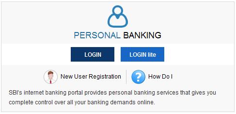 personal banking login