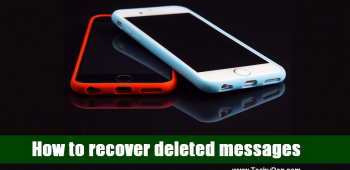 How to recover deleted text messages from your regular smart devices