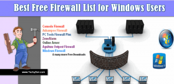 Best Free Firewall List for Windows Users Security in 2020