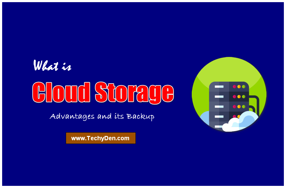 cloud storage advantages