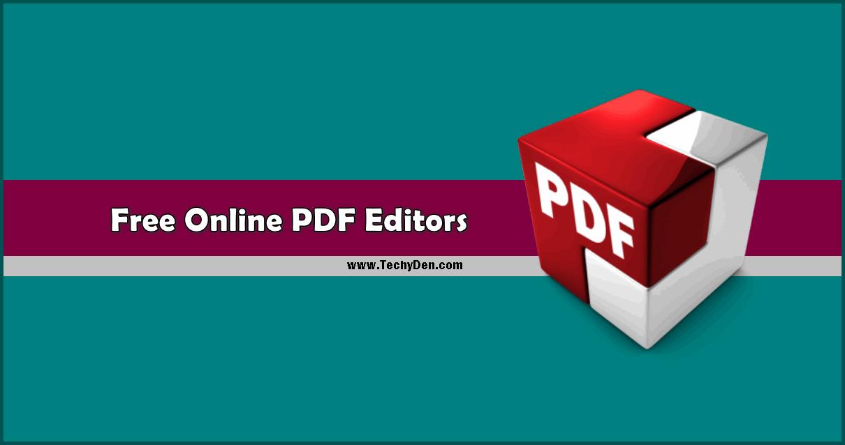 Best Online PDF Editors