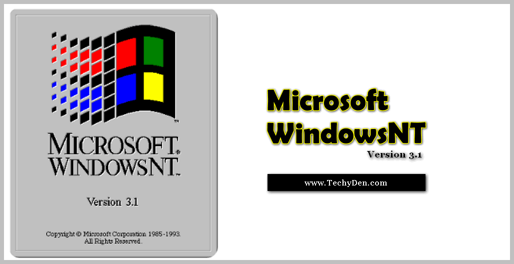 Microsoft windowsNT version