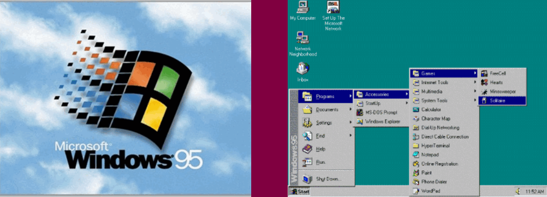 windows 95 version
