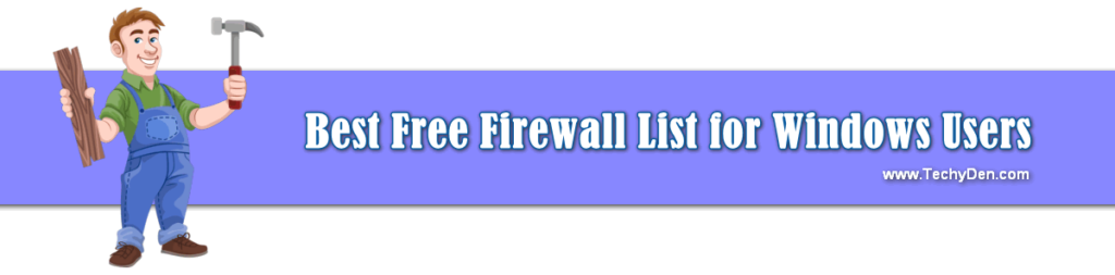 Best free firewall list for windows users in 2020