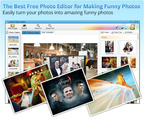 funny photo maker tool