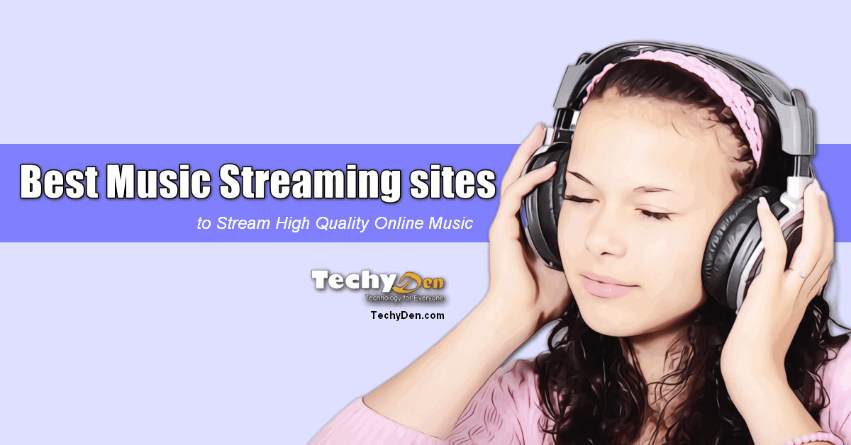 Best Music Streaming sites 2020