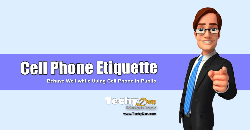 cell phone etiquette in public places