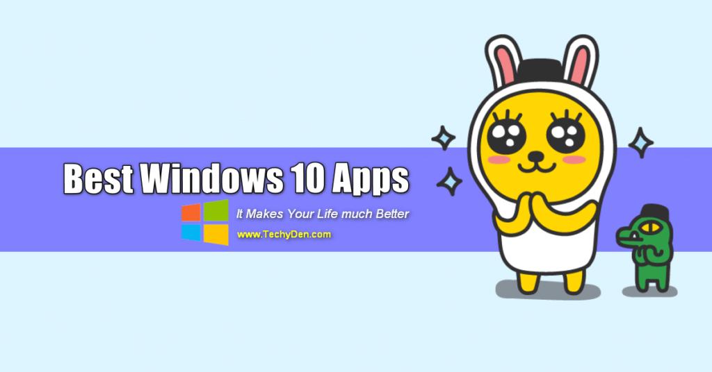 best windows 10 apps list